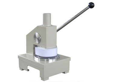 Manual Operation 125mm Paper Testing Instruments, Round Paper Cutter